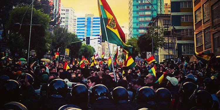 Proteste in Bolivien 2019