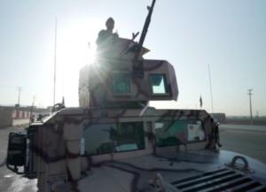 Vehículo militar en Afganistán