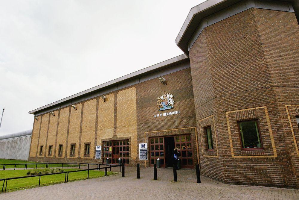 Belmarsh Prison, where Julian Assange is currently imprisoned.