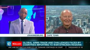 Terry Crawford Browne habla sobre el comercio mundial de armas