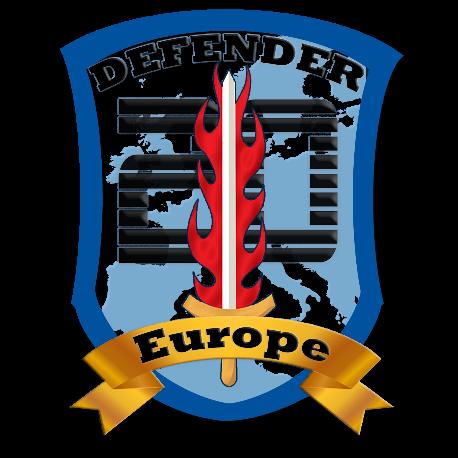 Defender 20 Europe logo