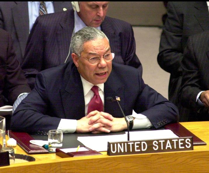Colin Powell en las Naciones Unidas