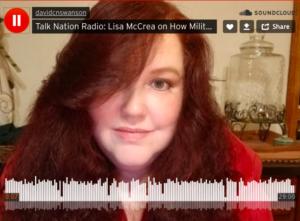 Lisa McCrea habla sobre la contaminación de la base militar