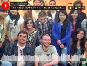 Phil Gittins im Talk Nation Radio