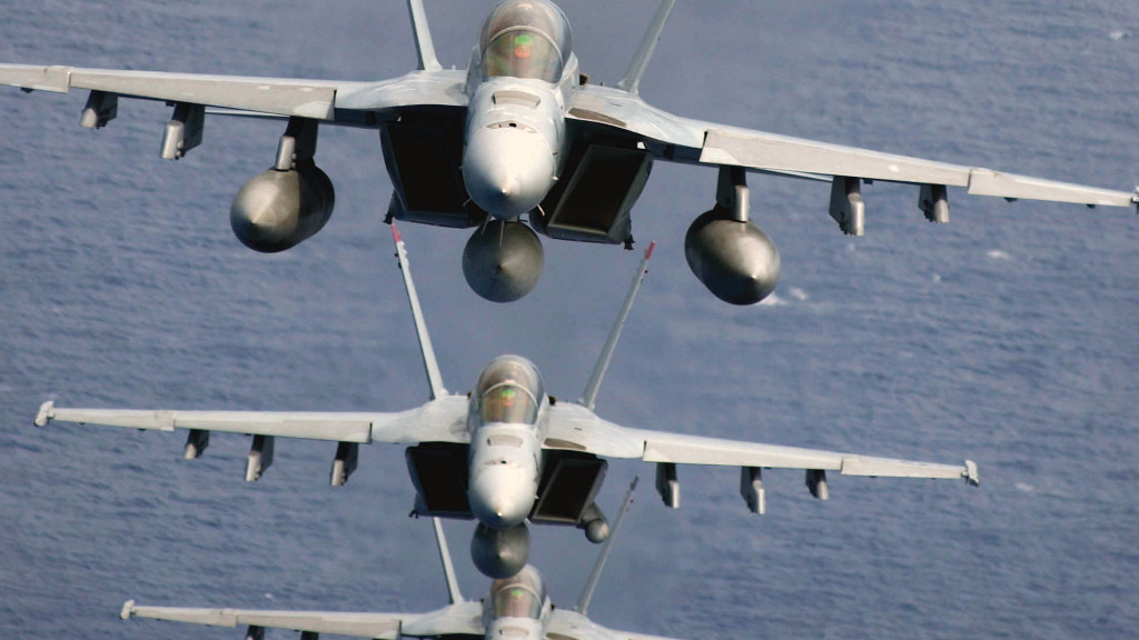 Hornet military airplanes