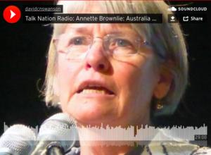 Annette Brownlie en Talk Nation Radio