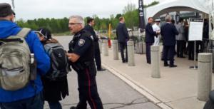 Entrada al espectáculo de armas CANSEC en Ottawa