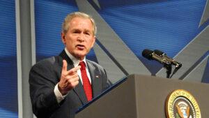 El presidente de los Estados Unidos, George W. Bush