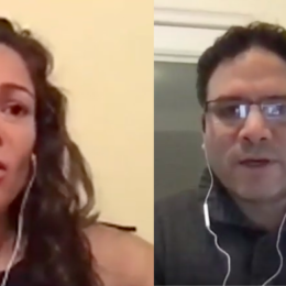 Manisha Rios and Camilo Mejia in World Beyond War webinar