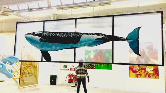 Orca Calf by Piril Torgut