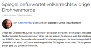 Article by Oskar Lafontaine