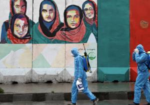 Bloqueo de coronavirus en Kabul
