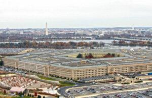 Foto aérea del Pentágono