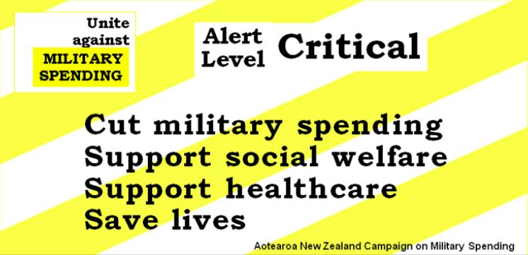 Alert Level Critical: Cut Military Spending