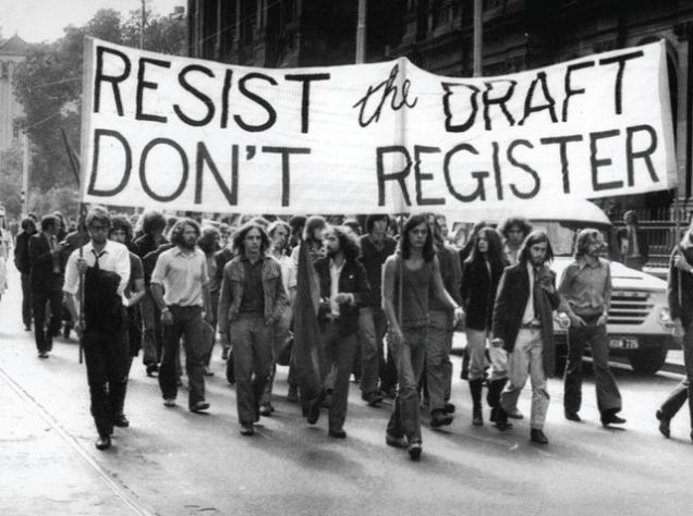 Proyecto de protesta antimilitar estadounidense de la década de 1960