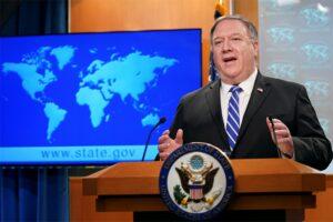 Secretario de Estado de los Estados Unidos, Mike Pompeo