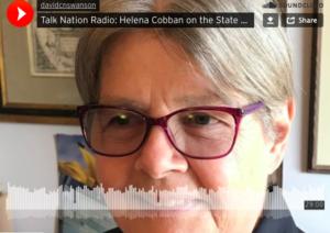 Helena Cobban en Talk Nation Radio