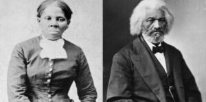 Harriet Tubman kaj Frederick Douglass