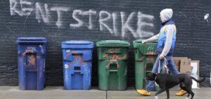Alquiler huelga graffiti