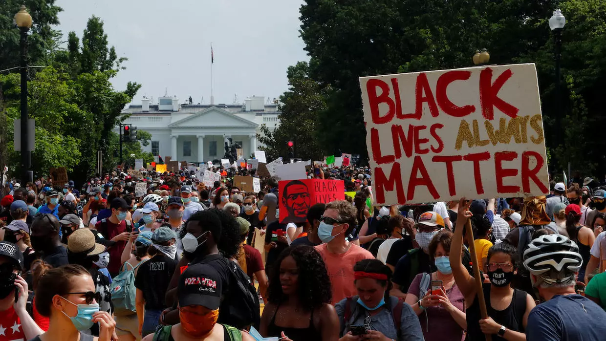 Black Lives Matter June 2020 - Credit CODEPINKI