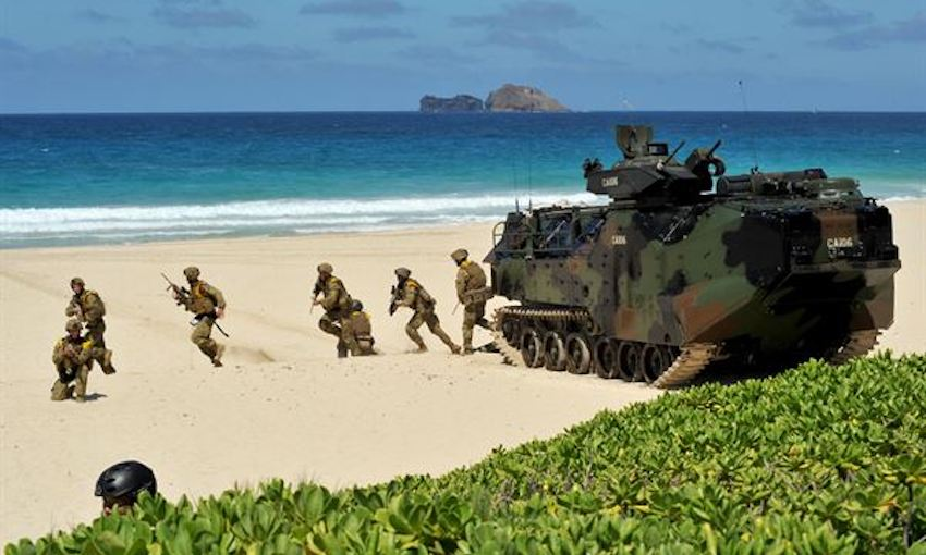 RIMPAC war games by Australian armed forces