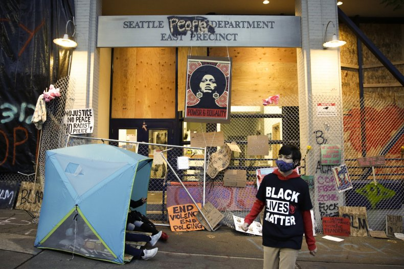 Seattle's Capitol Hill Occupation Protest zone