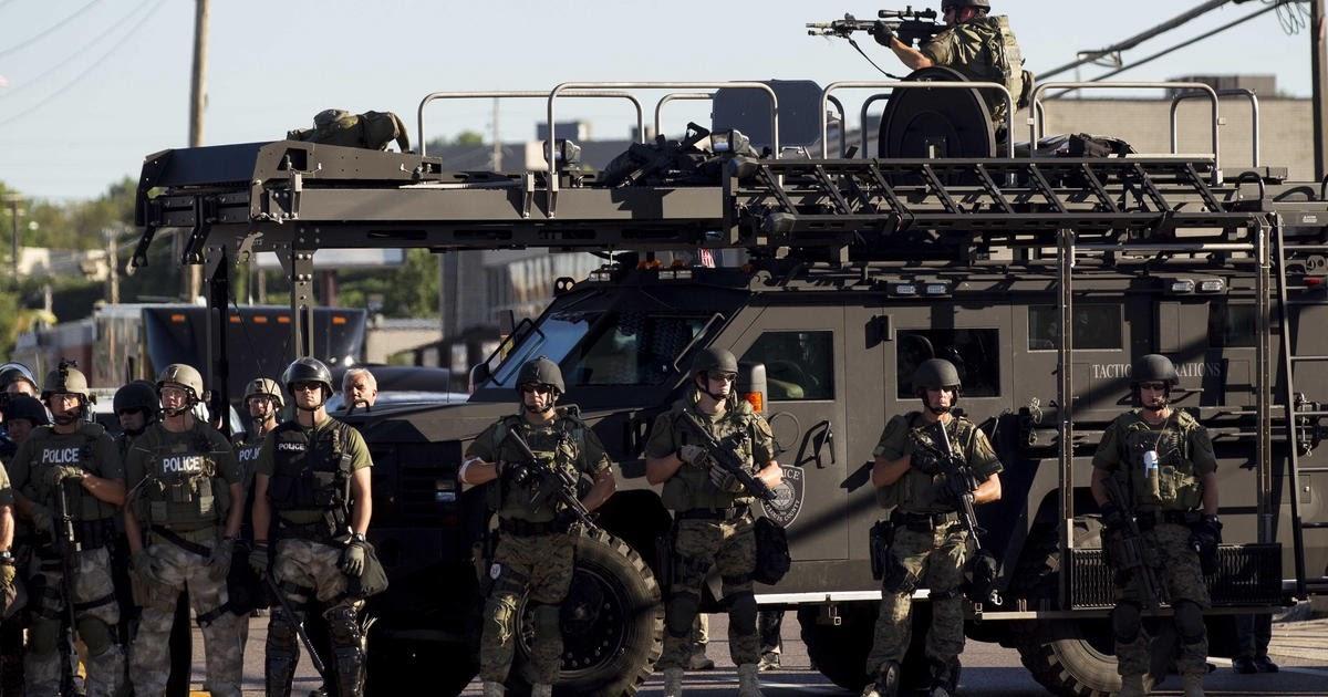 Policia militarizada