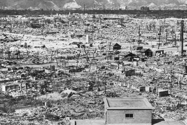 Hiroshima, Two Months after the Atomic Bomb, October 1945.