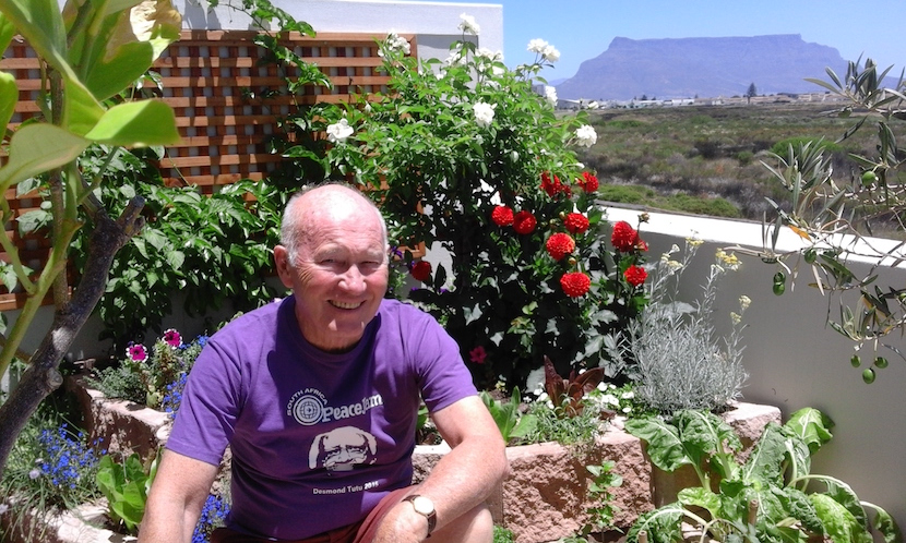 Terry Crawford=Browne, peace activist in South Africa