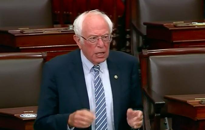 Bernie Sanders speaking about NDAA, June 2020