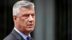 Hashim Thaci, president and former prime minister of Kosovo