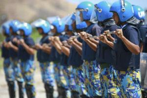 UN-Polizei