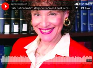 Marjorie Cohn en Talk Nation Radio