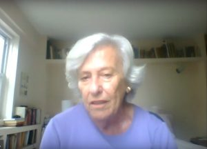 """Alice Slater, as part of the discussion, """"Obstacles to Nuclear Abolition"""""""