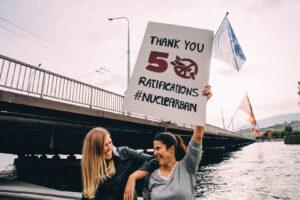 Celebrando la Prohibición Nuclear de la ONU, 24 de octubre de 2020