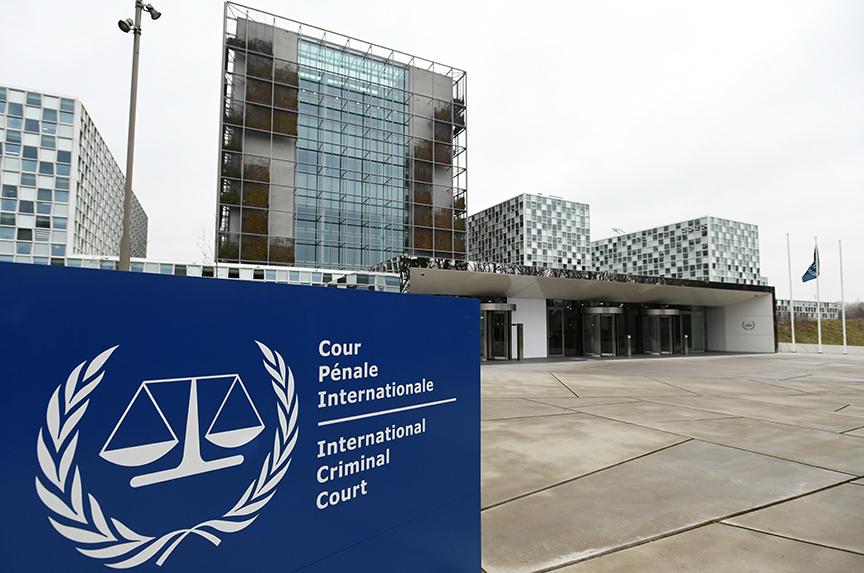 Edificio de la Corte Penal Internacional en La Haya, Países Bajos