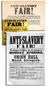 Carteles navideños abolicionistas