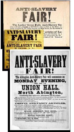Abolitionistische Weihnachtsplakate