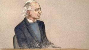 Julian Assange sketch