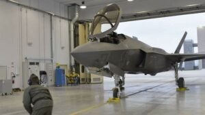 F-35 in Ghedi Air Force Base