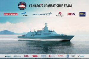 Programa de barcos de combate de Canadá