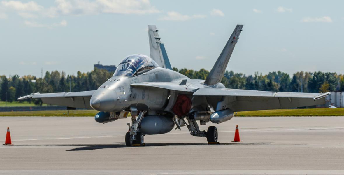 Avión de combate canadiense
