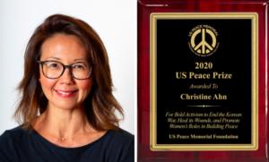 Christine Ahn, ABD Barış Ödülü'nü kazandı