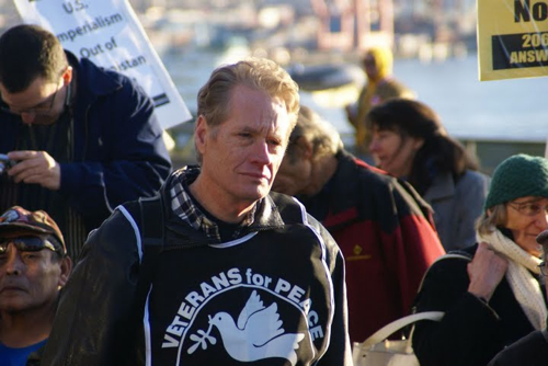 Gerry Condon of Veterans for Peace
