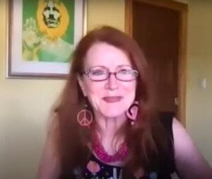 Activista por la paz Jodie Evans