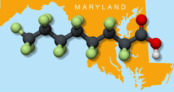PFAS toxic pollution in Maryland