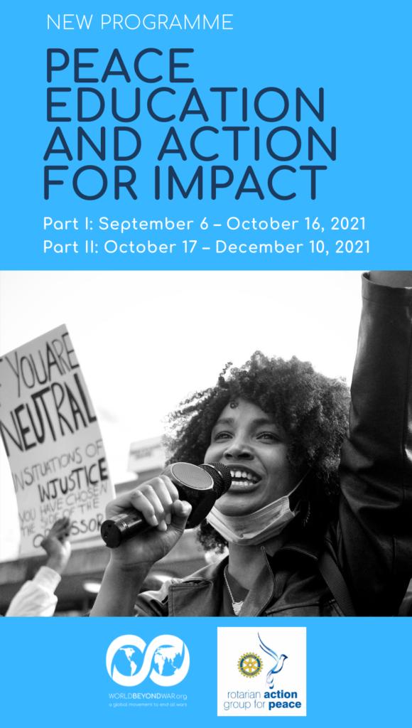 Friedenserziehung und Aktion für Wirkung
