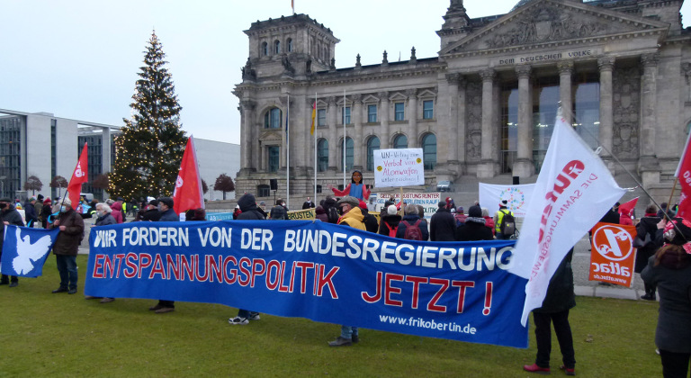 Day of Action in Germany