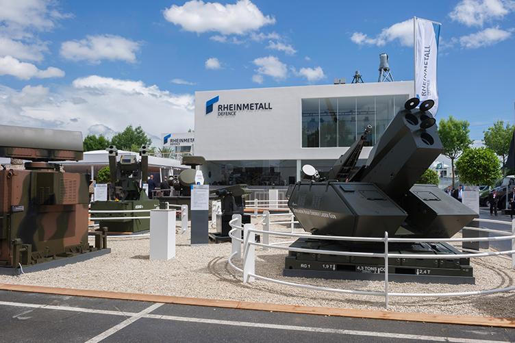 Rheinmetall Defense plant