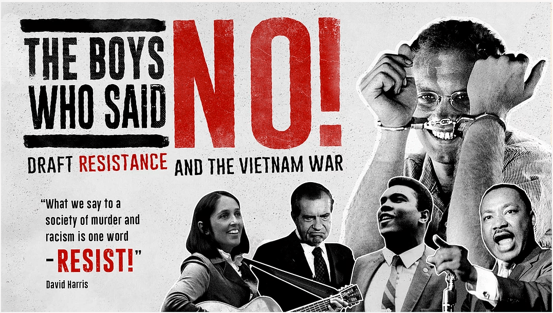 The Boys Who Said No - to US Vietnam war draft